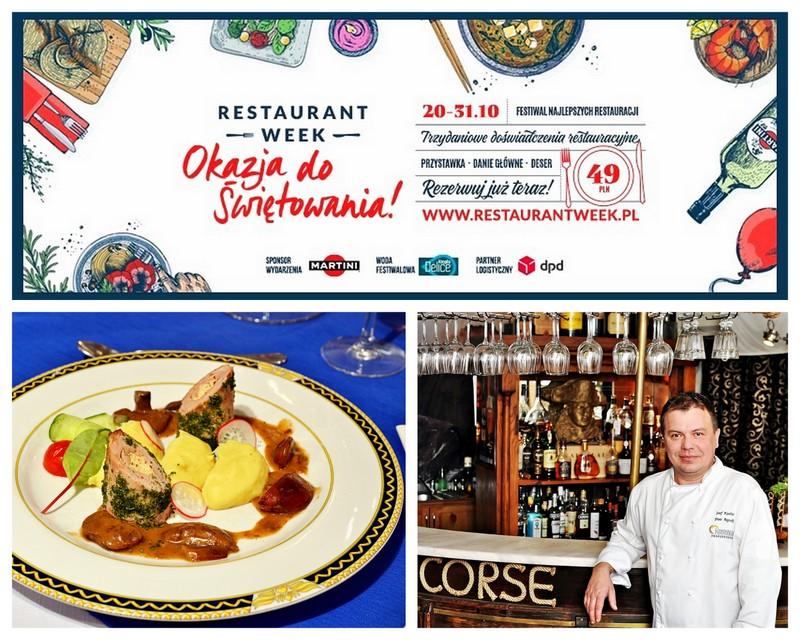corse, restauracja corse, restaurant week, restaurant week polska, okazja do swietowania, piotr regucki
