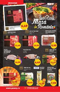 CATALOG PENNY 31 octombrie - 6 noiembrie masa de romania carne proaspata