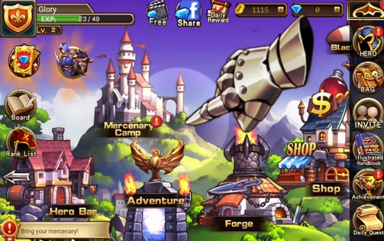 Screenshot Brave Fighter 2 Mod Apk