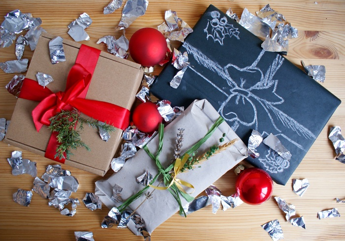 diy wrapping ideas christmas gifts