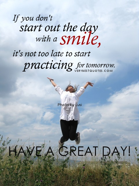 Start Today, Not Tomorrow