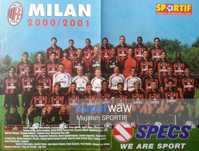 Full Team AC Milan 2000/2001