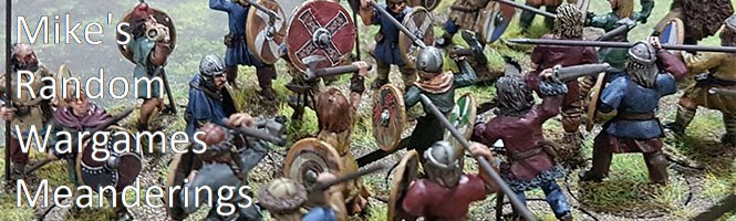 Mike's Random Wargame Meanderings Blog