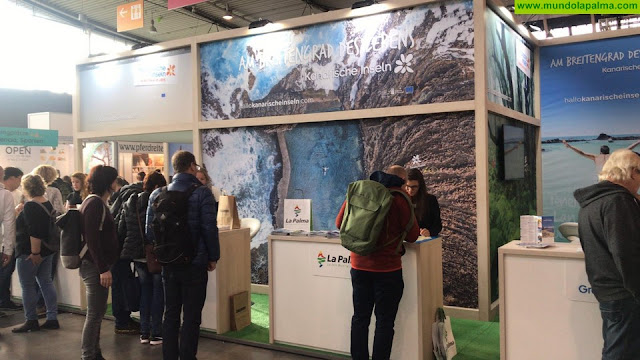 La asistencia de La Palma a la CMT de Stuttgart, primera cita en el calendario de 'La Isla Bonita' en más de 20 ferias turísticas durante 2020