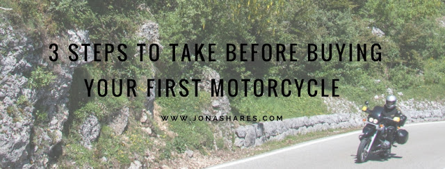 3 Steps To Take Before Buying Your First Motorcycle