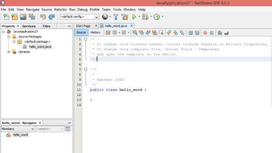 11 - Kode Pertama Pemrograman Java