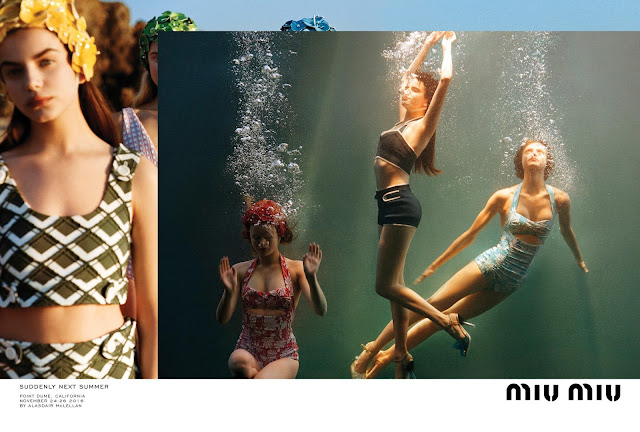 Miu Miu's spring 2017 campaign
