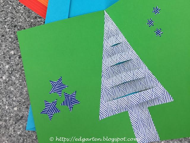 Weihnachtskarten Tannenbaum