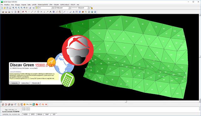 Survey CAD System pfCAD disCAV Green
