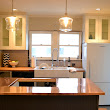 {renovate} copper counters, kitchen lights and more