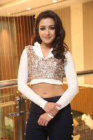 Catherine Tresa in a White Glittering Crop Top Black Leggings  Exclusive 030.JPG