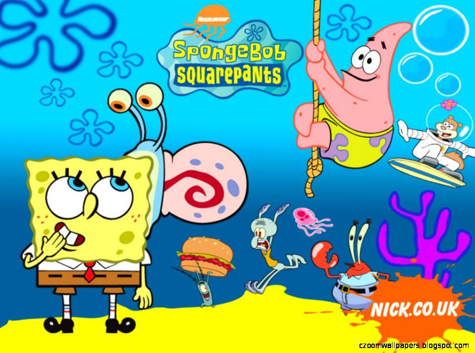 93 Gambar Kartun Spongebob Bergerak Pilihan Cikimm Com