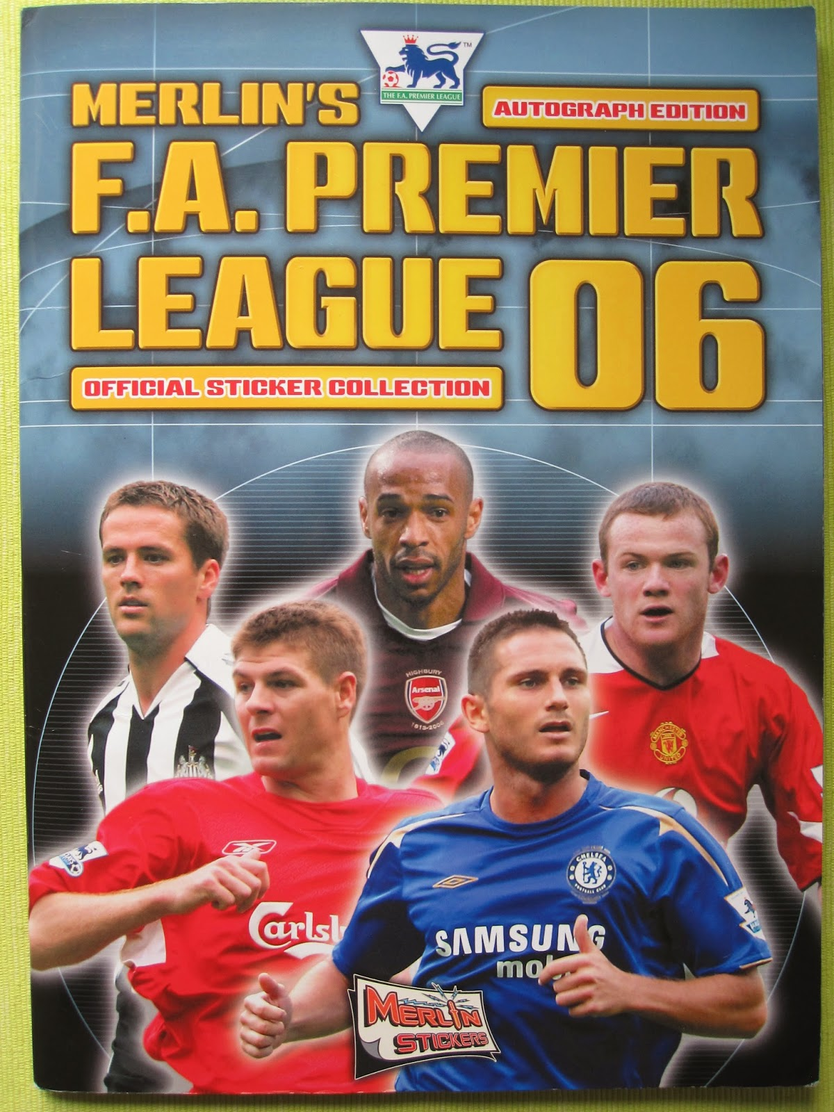 Only Good Stickers: Merlin's Premier League 2006