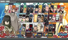 Game Naruto senki Apk Mod Gabungan v1.17 (Shinobi Senki) Full Version