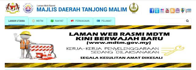 Rasmi - Jawatan Kosong (MDTMalim) Majlis Daerah Tanjong Malim Terkini 2019