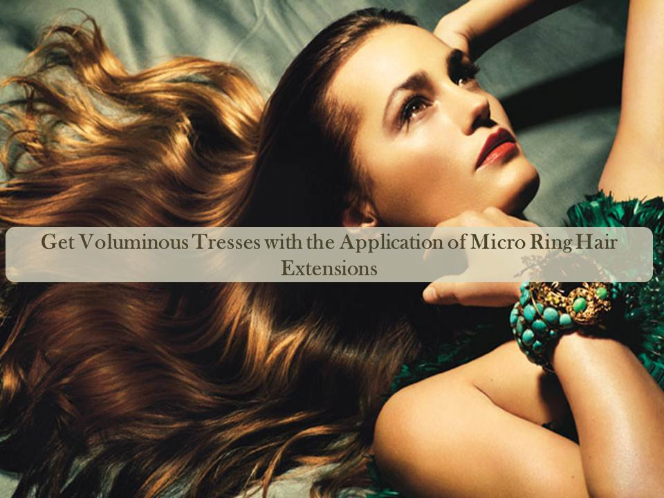 Moreover micro ring extensions are very light and does not involve pulling and snagging while removing it from hair. Also known as micro cylinders this hair