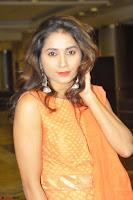 Bhanu Priya in Oreange Ethnic Anarkali Dress 07.JPG