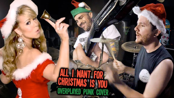 "Kye Smith & Feff skate punk cover Mariah Carey's ""All I Want For Christmas is You"""