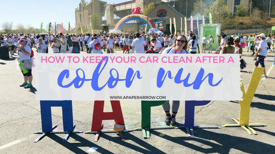 color run, fun run, 5K, car, clean car