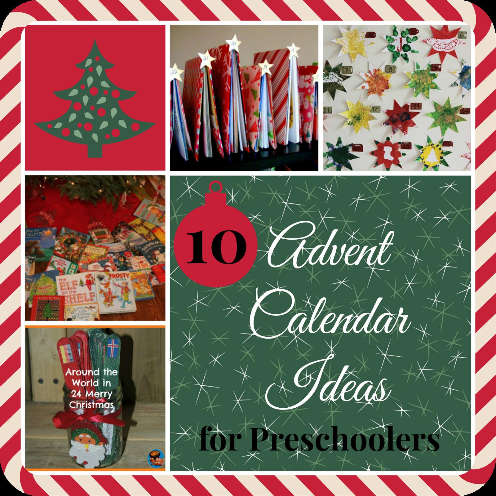 mama pea pod 10 christmas advent calendar ideas for preschoolers. Black Bedroom Furniture Sets. Home Design Ideas