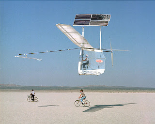 Solar powered remote controlled aircraft