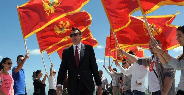 Због великог доприноса независности Црне Горе и Албанци у прослави