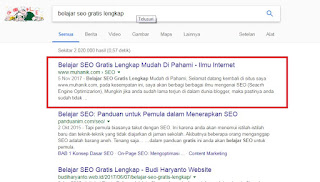 Muhamad Anik Ahli dan Master SEO di Indramayu Cirebon