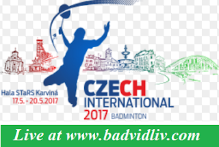 Czech International 2017 live streaming