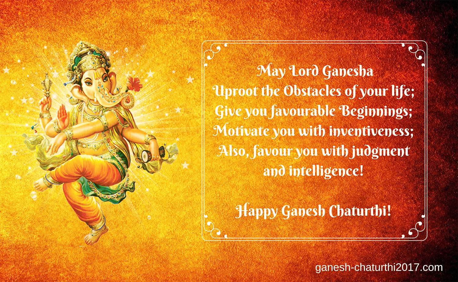 Ganesh Chaturthi Images with Message