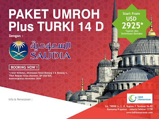 Umroh Plus Turki November