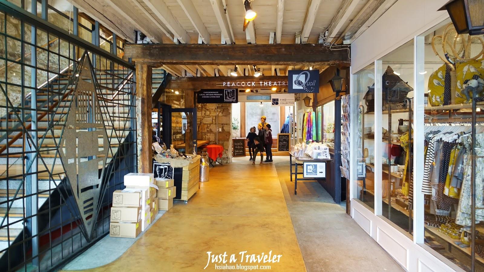 塔斯馬尼亞-荷伯特-景點-推薦-莎拉曼卡廣場-旅遊-自由行-澳洲-Tasmania-Hobart-Salamanca-Place-Tourist-Attraction-Australia