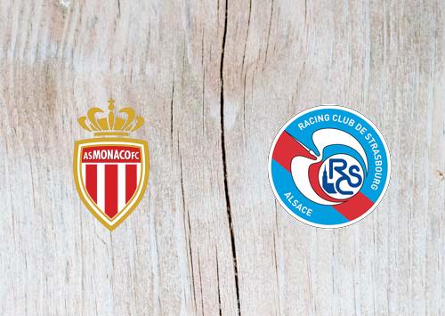 Monaco vs Strasbourg - Highlights 19 January 2019