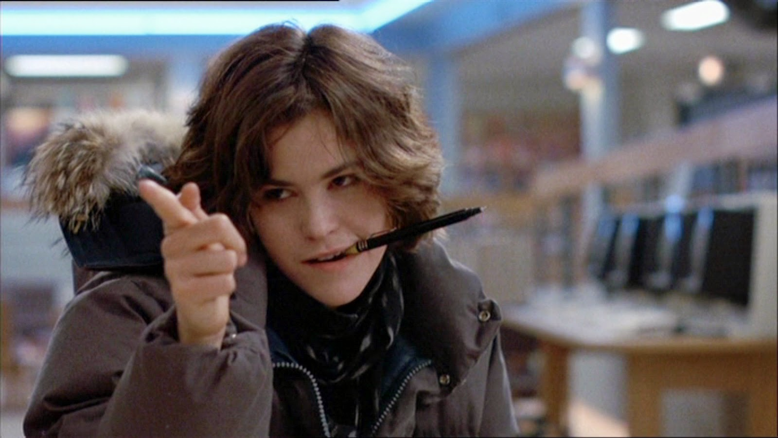 Ally Sheedy Fakes the netflix danger zone: you got the touch!