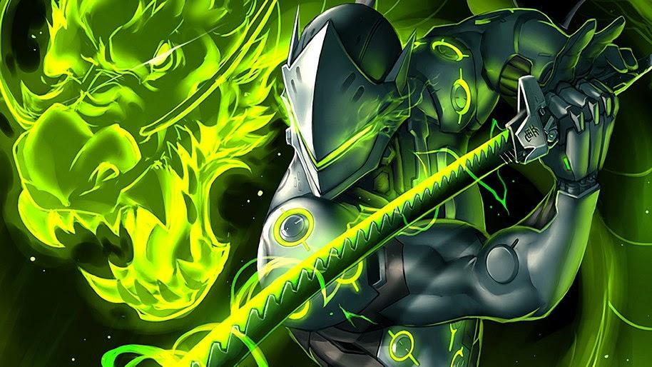 Genji Overwatch 4k Wallpaper 23