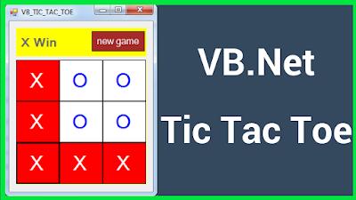 VB.NET Tic-Tac-Toe Game