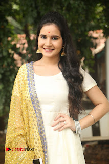 Shivshakti Sachdev Pictures in White Salwar Kameez at VR Chalanachitralu Production No. 1 Movie Opening ~ Bollywood and South Indian Cinema Actress Exclusive Picture Galleries