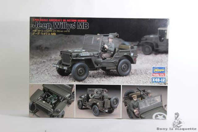 Jeep Willy's Hasegawa 1/48
