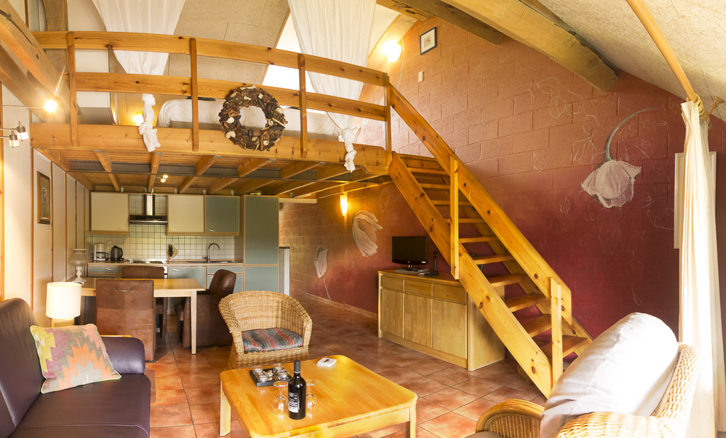 2 kamer appartement voor 2 3 personen op de eerste etage gelegen en voorzien van een woonkamer met zit en eethoek open keuken