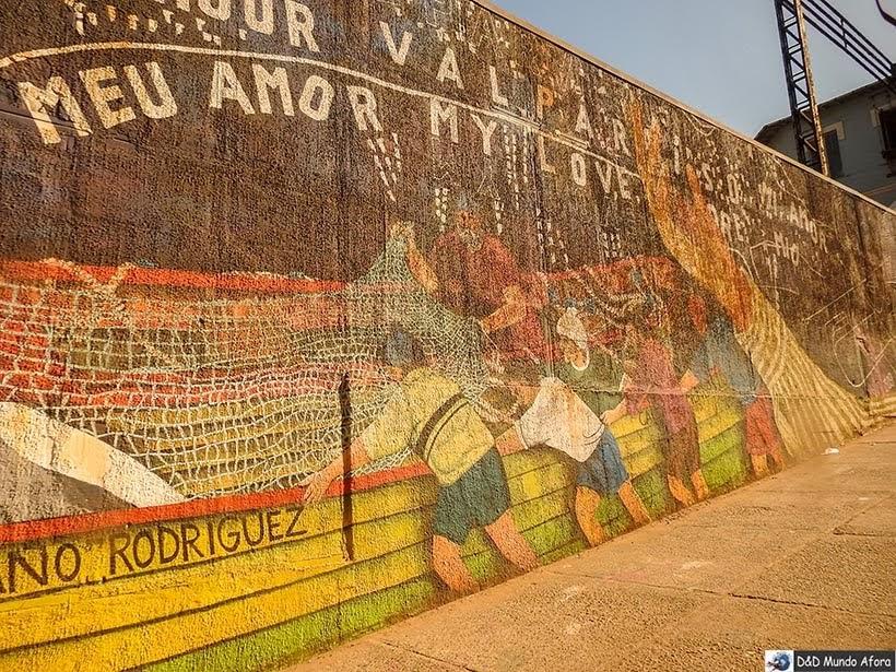 Grafite em Valparaíso, Chile - O que fazer em Valparaíso em algumas horas