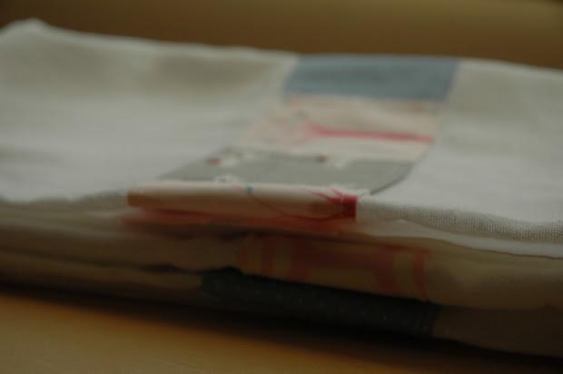 Ms.tee.kay Patchwork Flour Sack Tea Towels Walks In