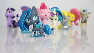 MLP WeLoveFine Chibi Vinyl Figures
