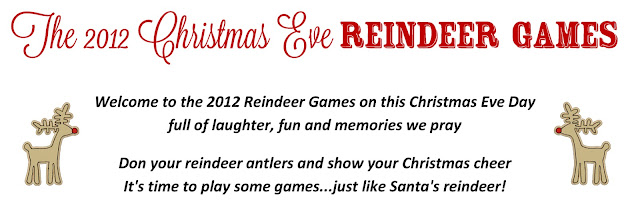 "SOOO FUN!! ""The Christmas Eve Reindeer Games""...a perfect mix of interactive games for kids and adults! FREE printables!"