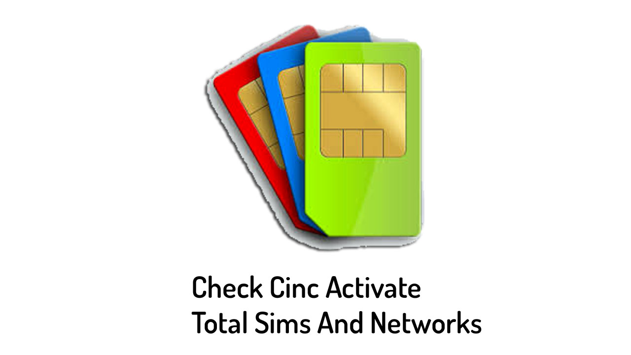 Check sim info, Sim total numbers, Sim verification, Cnic