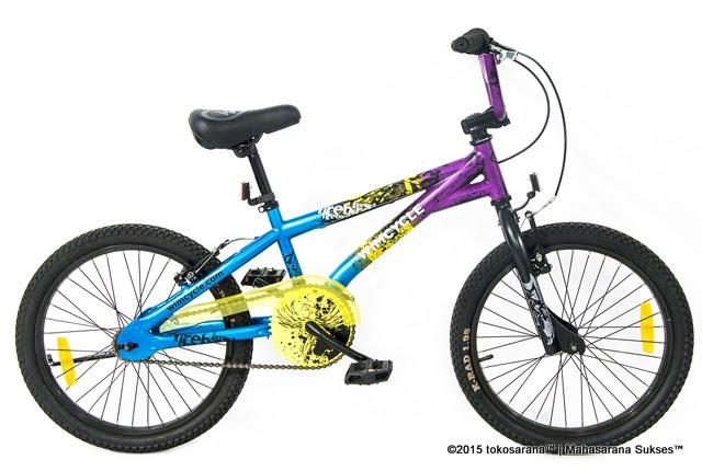 Tokosarana Mahasarana Sukses Sepeda Bmx Wimcycle Firebird 20 Inci