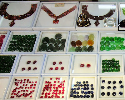 gemstone beads and cabochons