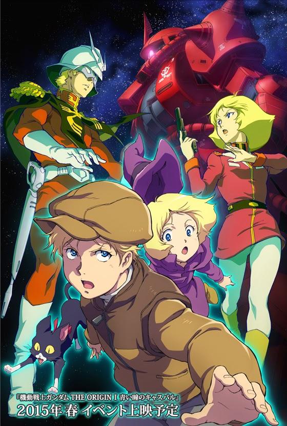 GUNDAM GUY: Mobile Suit Gundam THE ORIGIN I (OVA Series - Feb 28th 2015) - New Images & Release ...