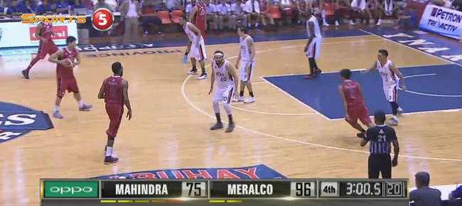 Meralco eliminates Mahindra, 105-82 (REPLAY VIDEO) September 24 - QUARTERFINALS