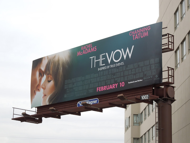 The Vow billboard