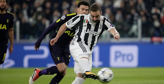 Tottenham vs Juventus Live Streaming online Today 07.03.2018 Champions League