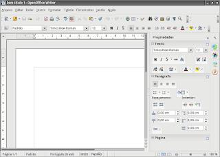 OpenOffice melhor opção para criar documentos